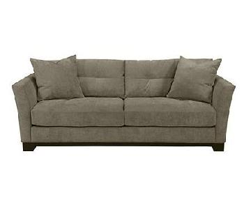 Macy's Elliot Graphite Microfiber Sleeper Sofa