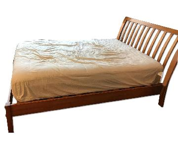 full size wood bed frame - Full Bed Frame Wood