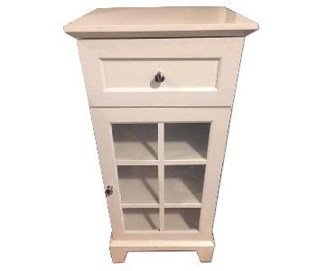 Home Goods Small White Nightstand