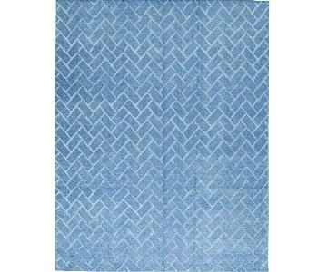 Himalayan Art Rug in Blue