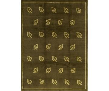 Himalayan Art Ziegler Select Rug in Gold/Gold