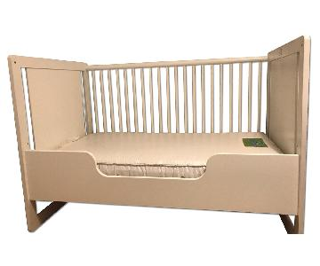Oeuf Robin Crib in White