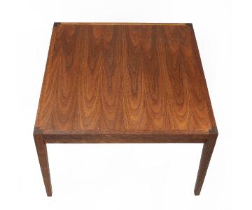 Square Teak Coffee Table