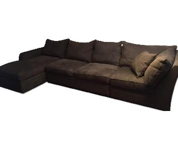 Macy's Doss 3 Piece Sectional Sofa