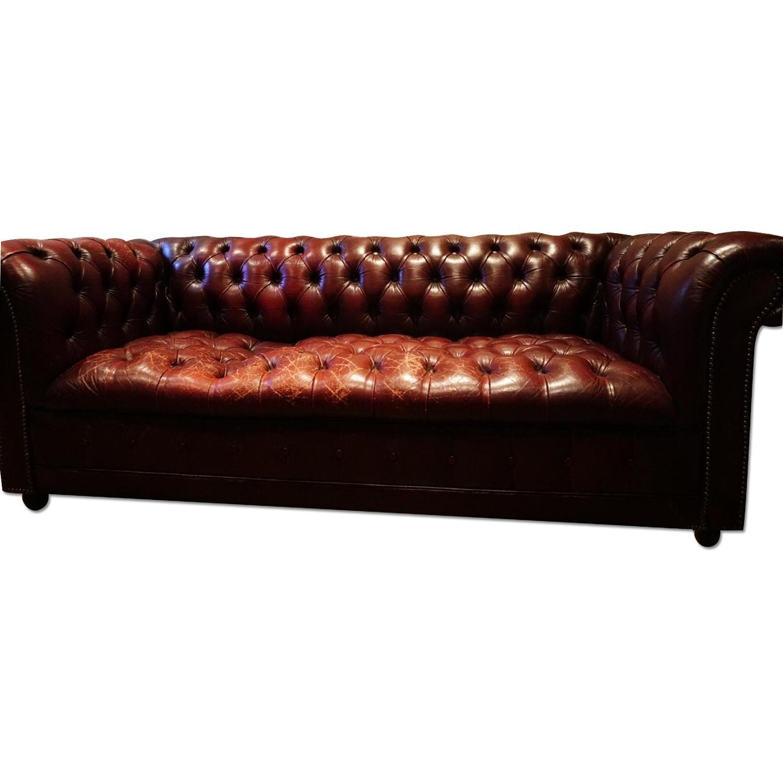 Pendragon Furniture Vintage Chesterfield Sofa AptDeco