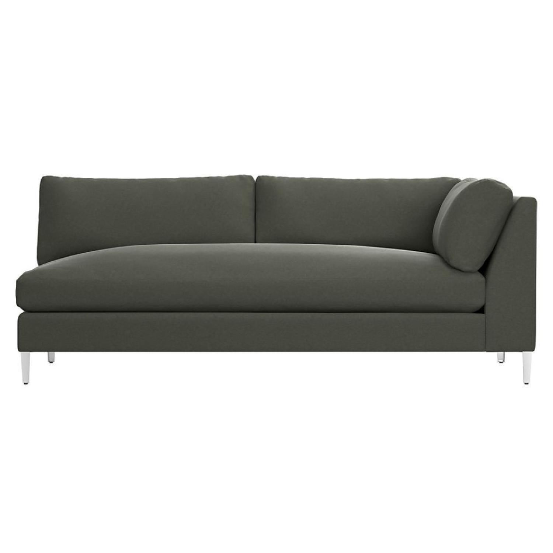 CB2 Right Arm 2 Seater Sofa