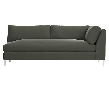 CB2 Right Arm 2 Seater Sofa