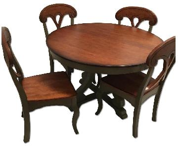Pier 1 Marchella Sage Round 5 Piece Dining Set