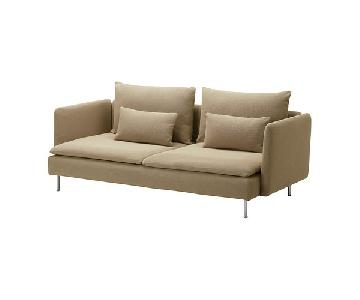 Ikea Soderhamn Two Seater Couch in Beige