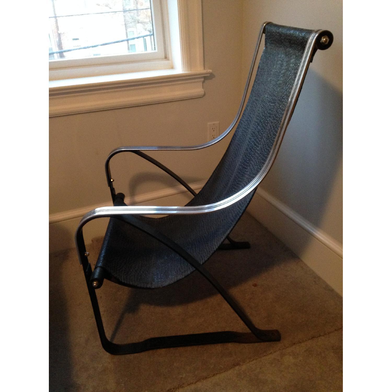 Mckay Art Deco Sling Chair Aptdeco