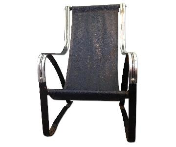 McKay Art Deco Sling Chair