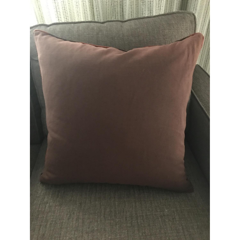 Lillian August Brown Multi Ikat Decorative Pillows - image-5
