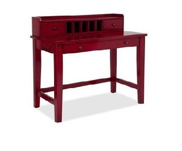 Pottery Barn Red Desk