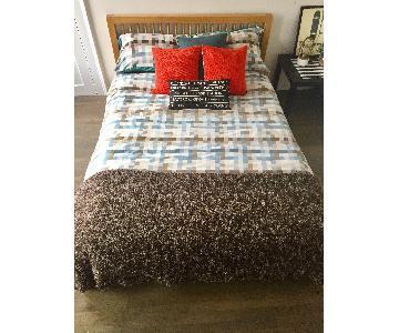 Habitat Queen Size Bed Frame w/ Headboard