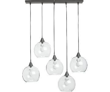 CB2 Firefly 5 Hanging Light Pendant
