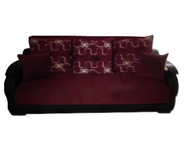 Bob's Sleeper Sofa + Loveseat