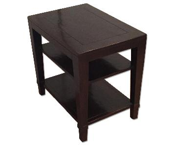 Crate & Barrel End Table