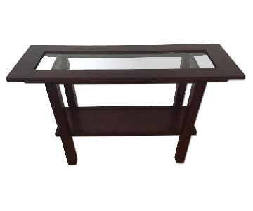 Crate & Barrel Pasadena Console Table
