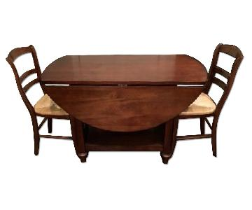 Pottery Barn Shayne Table w/ 5 Isabella Chairs