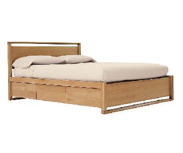 Design Within Reach Matera Queen Bed w/ Storage