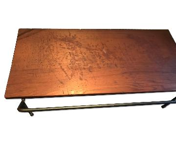 CoMod Vintage Industrial Wire Rod Coffee Table