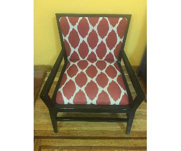 West Elm Custom Chauncey Ikat Chair