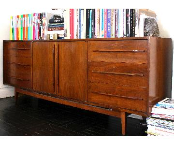 Antique Walnut Sideboard/Credenza