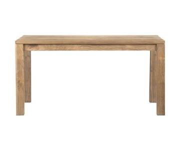 Crate & Barrel Wood Dining Table