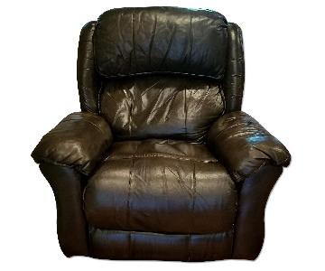 Raymour & Flanigan Leather Recliner