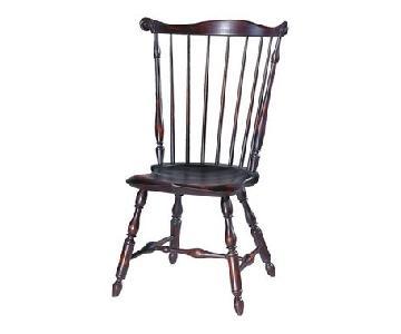 D.R.Dimes Philadelphia Fanback Windsor Chairs