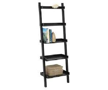 Container Store Leaning Bookshelves