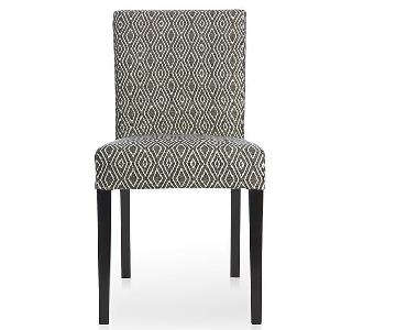 Crate & Barrel Lowe Upholstered Dining Chairs