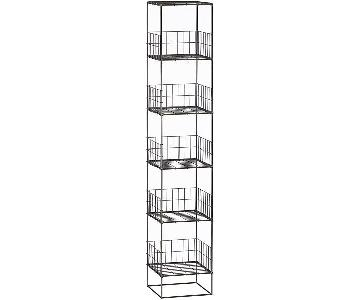 CB2 Grid Tower/Open Wire Shelves