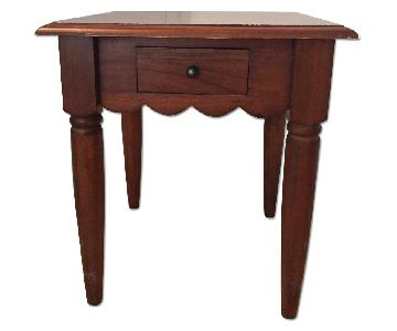 Pier 1 Wood Side Table