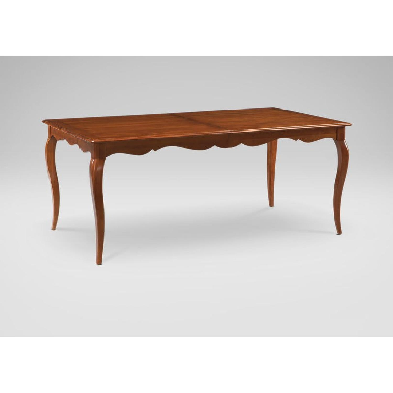 Ethan Allen Expandable Dining Table-1