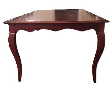 Ethan Allen Expandable Dining Table