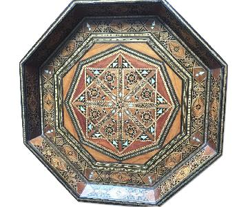 Wooden Moroccan Tray