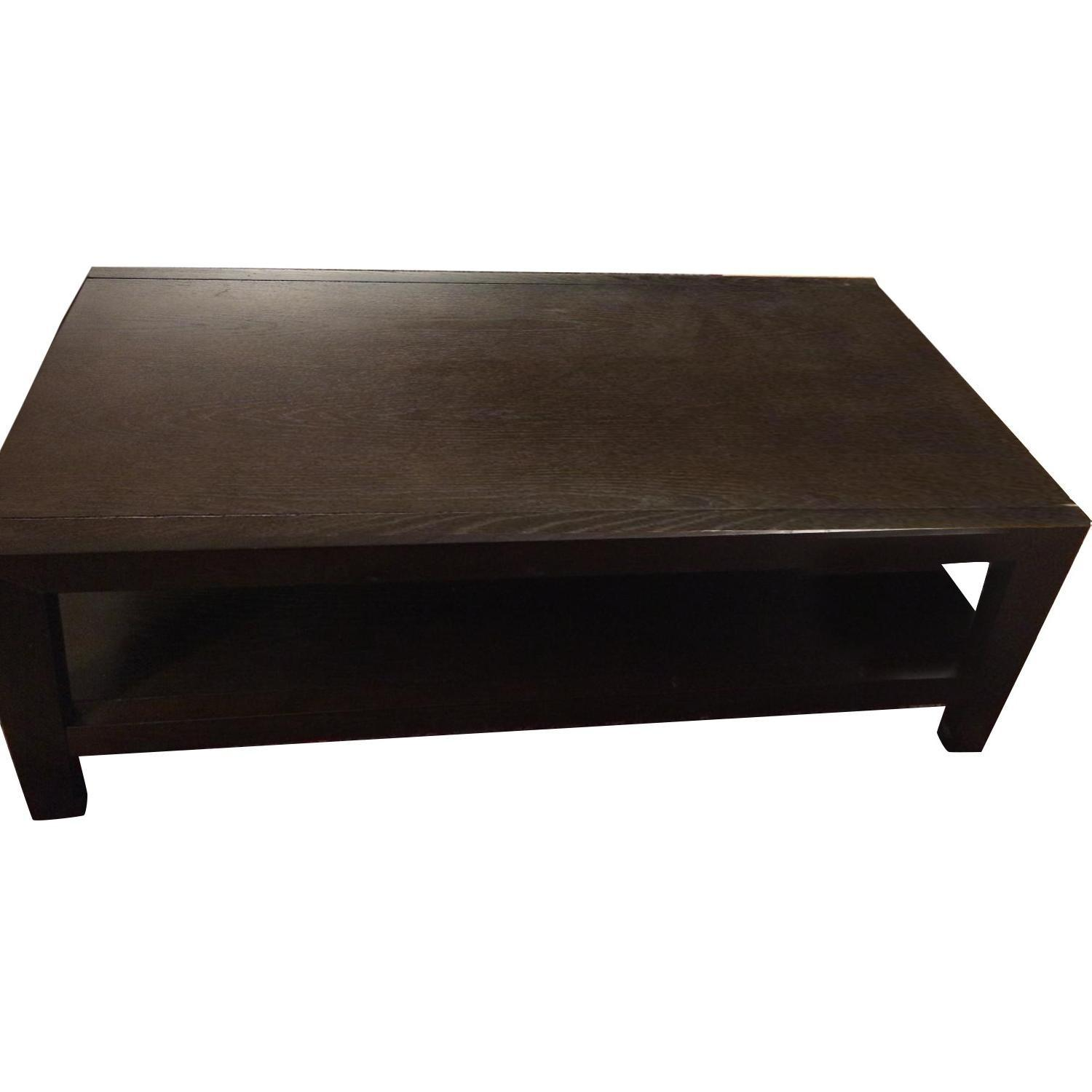 West elm coffee table aptdeco for West elm coffee table sale