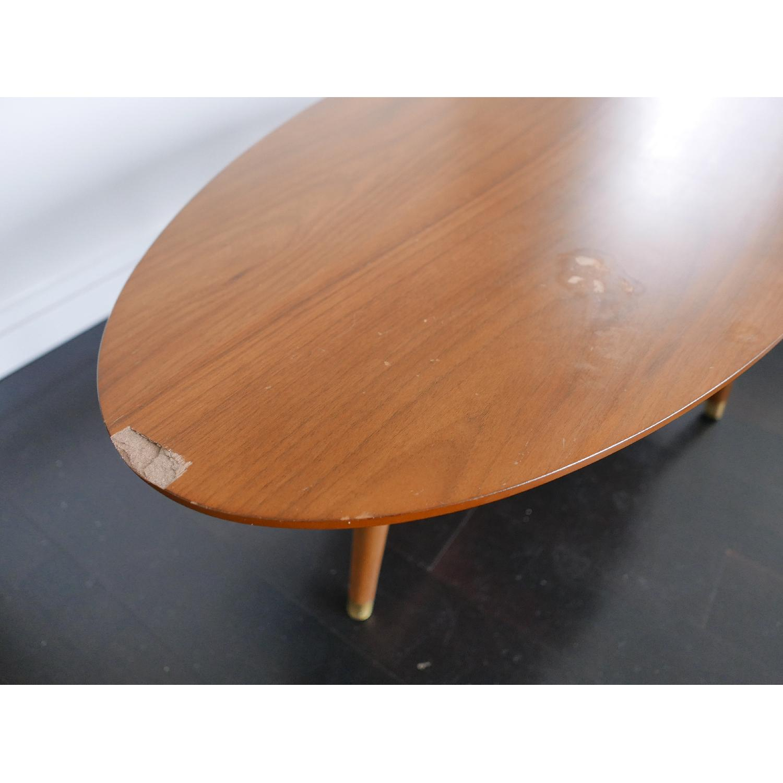 West Elm Reeve Mid-Century Oval Coffee Table in Pecan-3