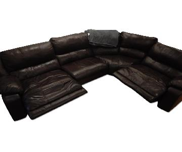 Like New 4 Piece Sectional