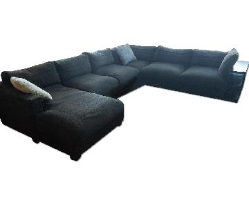 Oversized Modern Corner Sectional Couch