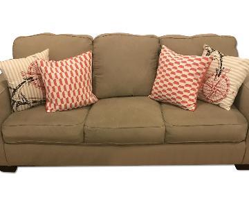 Ashley's 3-Seater Queen Sleeper Sofa