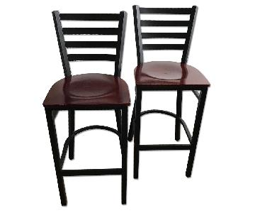 Restoration Hardware Bar Top or High Top Dining Chairs