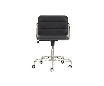 CB2 Modern Black Office Chair