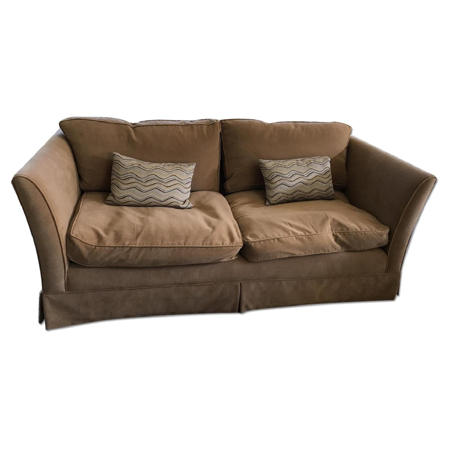 Custom Made Shelter Arm Couch