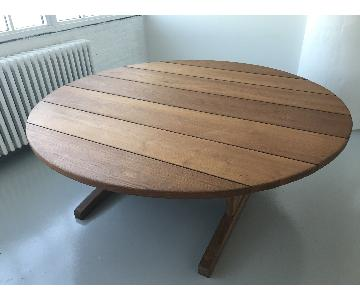 The Bayberry Round Teak Table