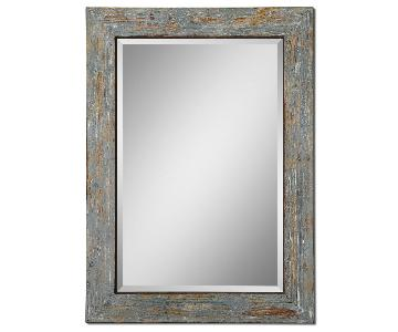 Uttermost Altino Distressed Wood Mirror