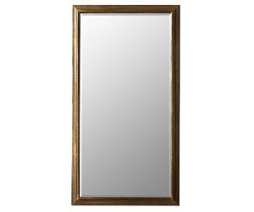 Restoration Hardware Brass Mirror