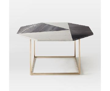 West Elm Marquetry Coffee Table