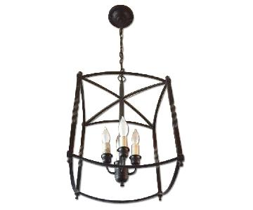 Oil Rubbed Bronze Lantern Light Fixture